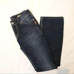 Suki Bootcut Silver Jeans